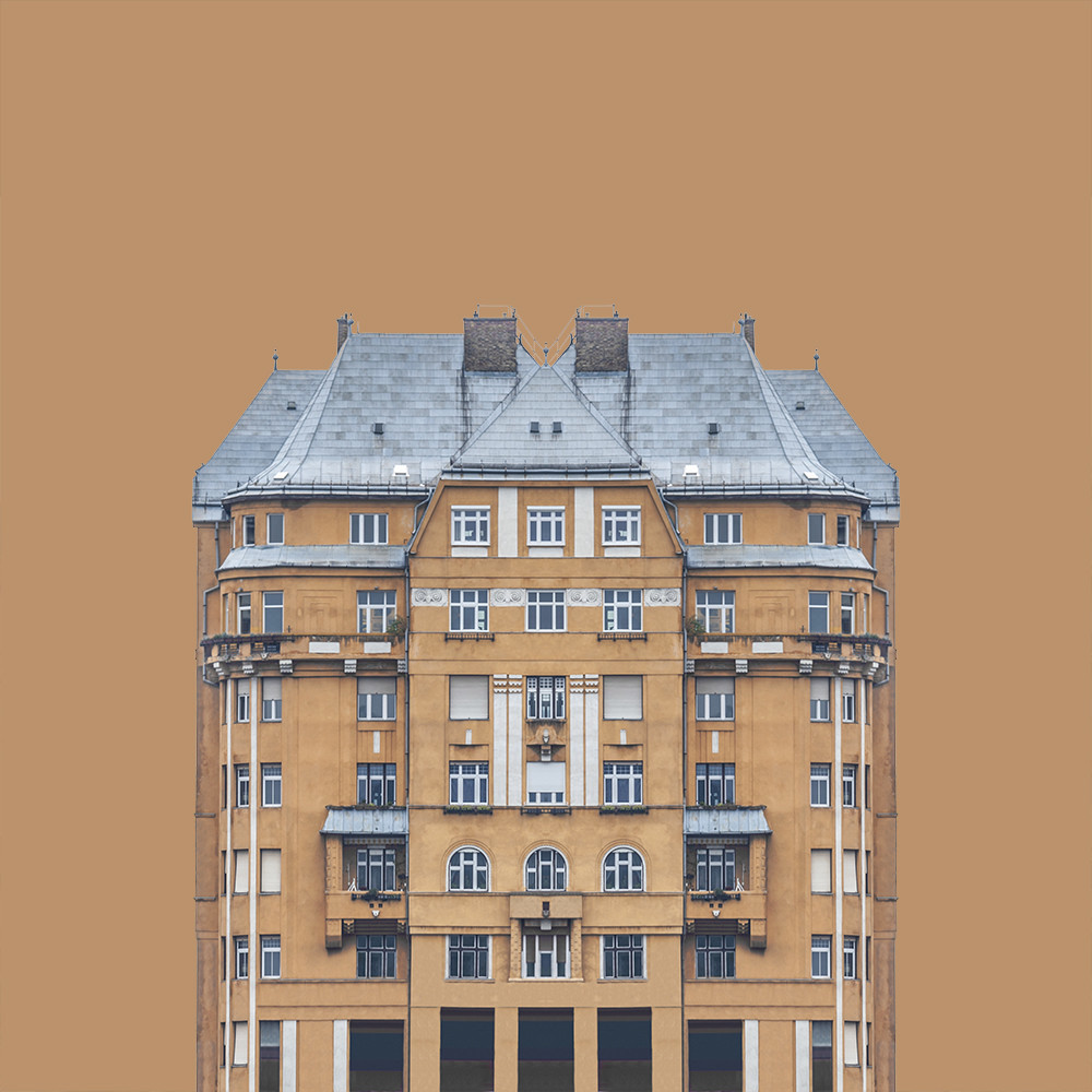 Urban Symmetry - 1 by Hlinka Zsolt