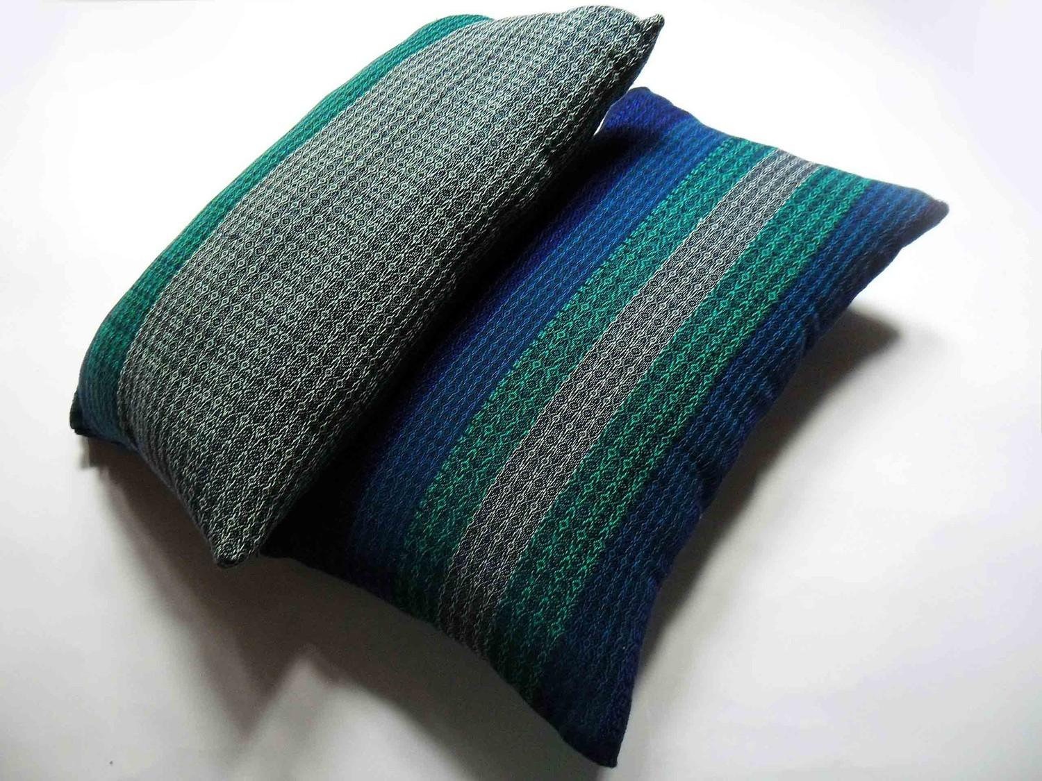 woven pillows inspirated by ACRIDA - 1 by Krutilla Eszter