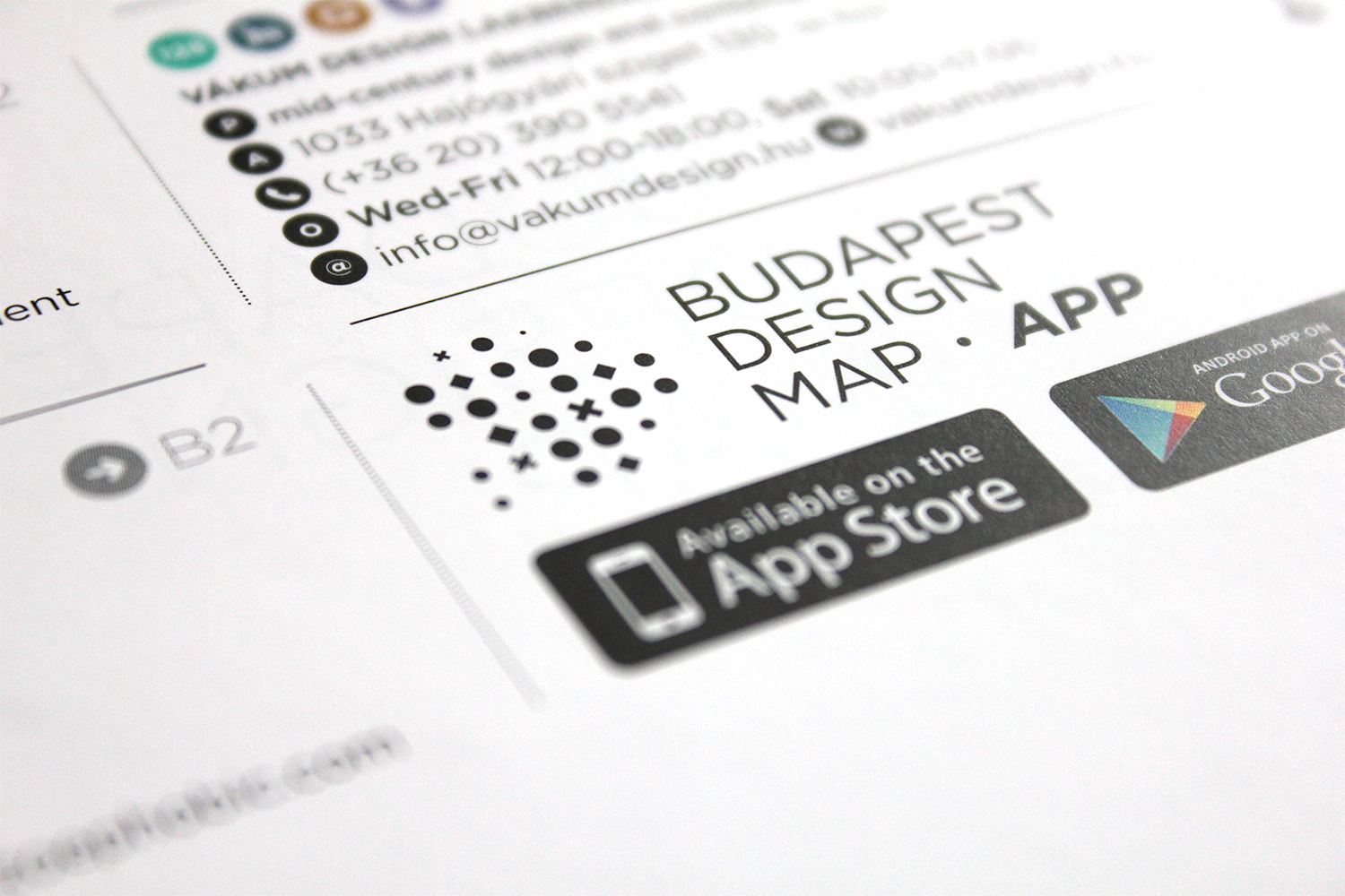 Budapest Design Map, 2013 - 1 by José Simon