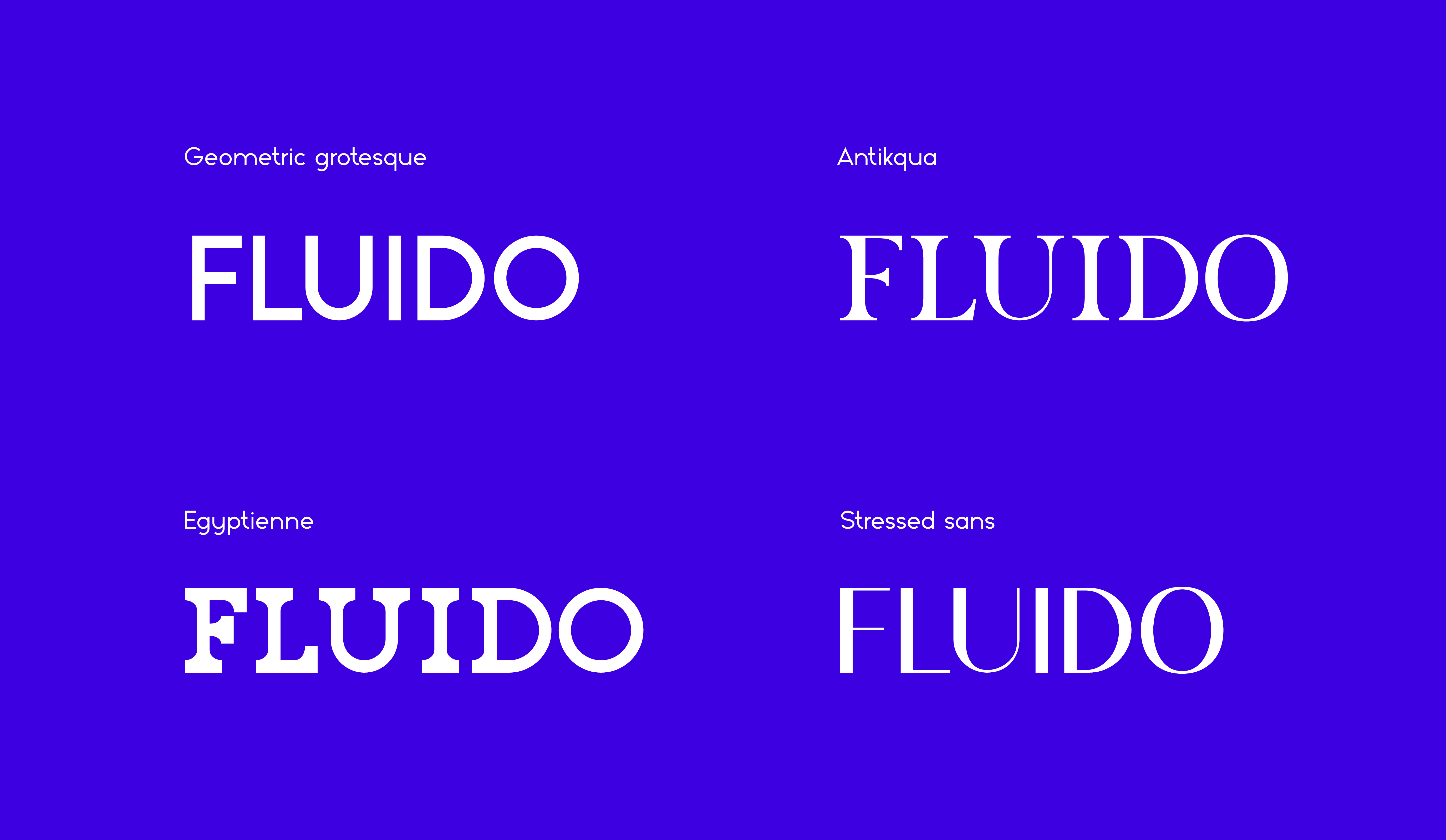 FLUIDO. variable font + website - 1 by Szemmelroth Balázs
