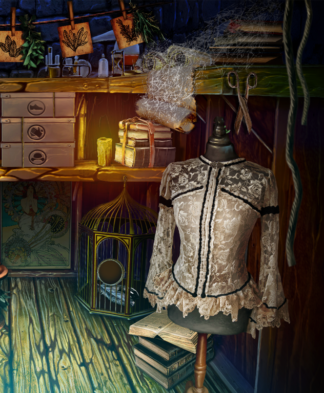 The Secret Order: Beyond Time Hidden Object Scenes CE - 1 by Molnár Nikoletta