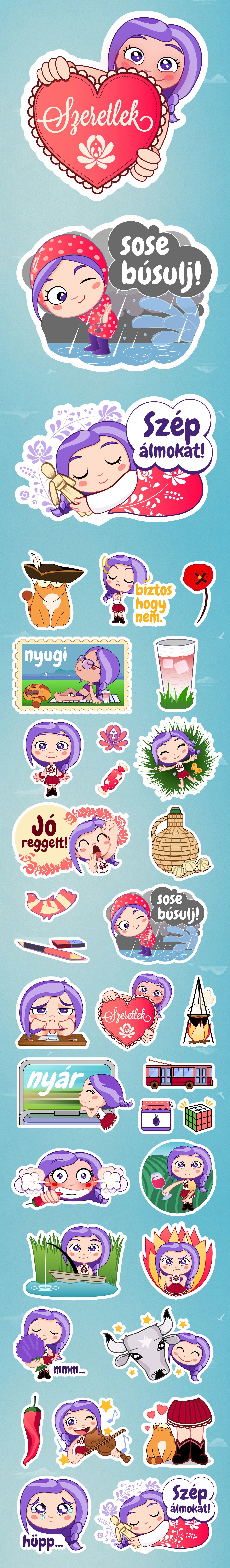 Viber sticker pack - 1 by stratyap