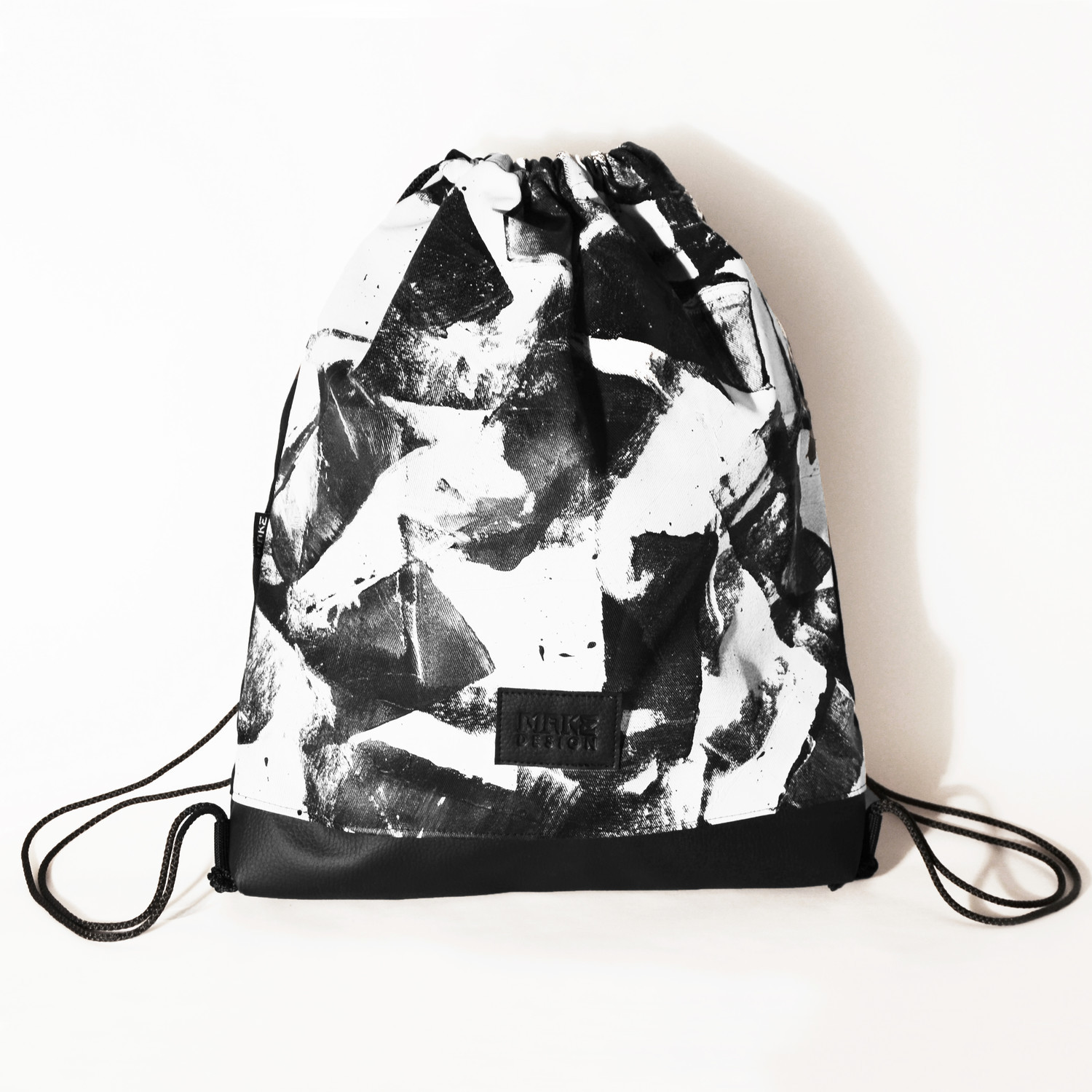 Hand painted bags/ gym bags - 1 by MAKE design