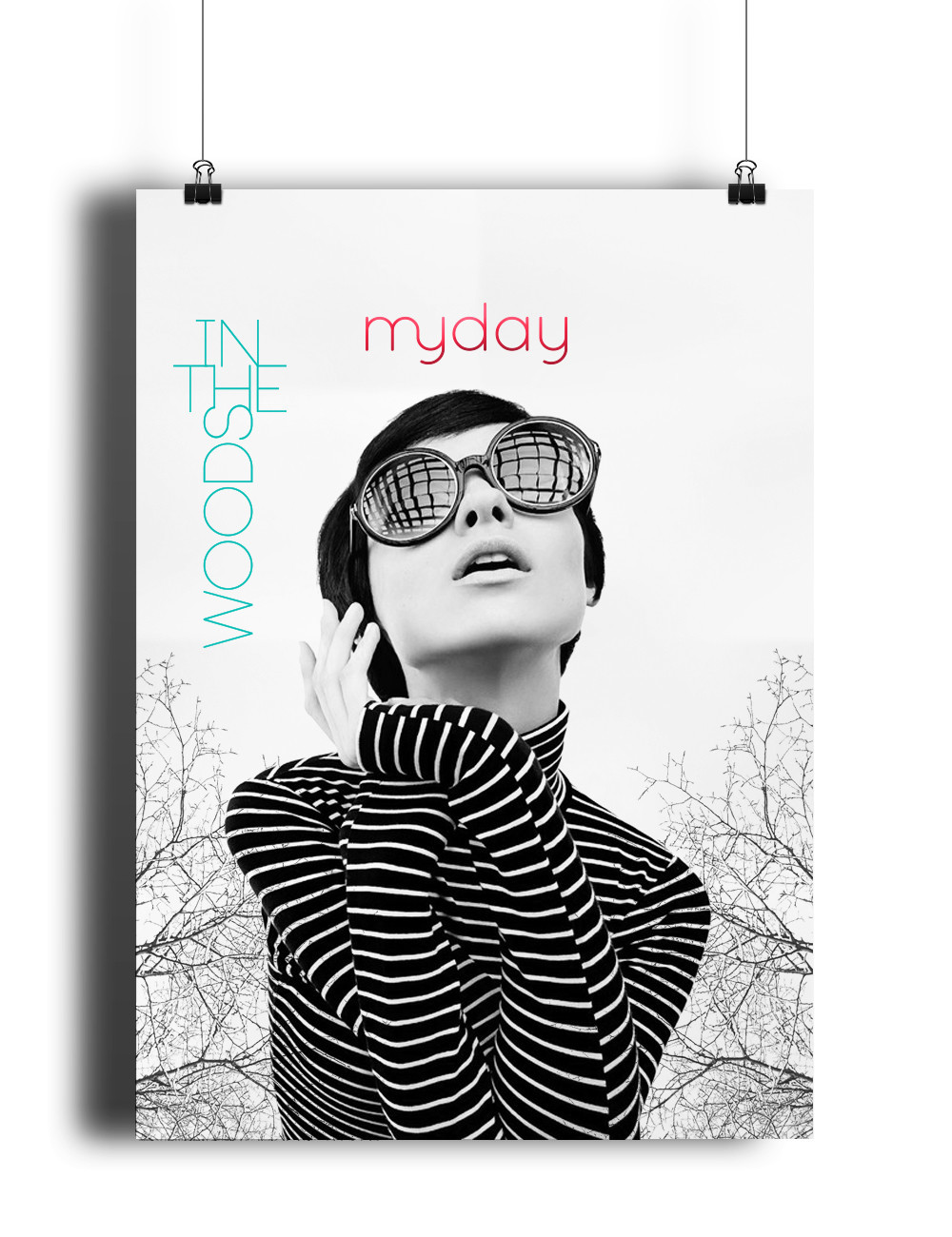 Myday Poster - 1 by Bárdos Barbara