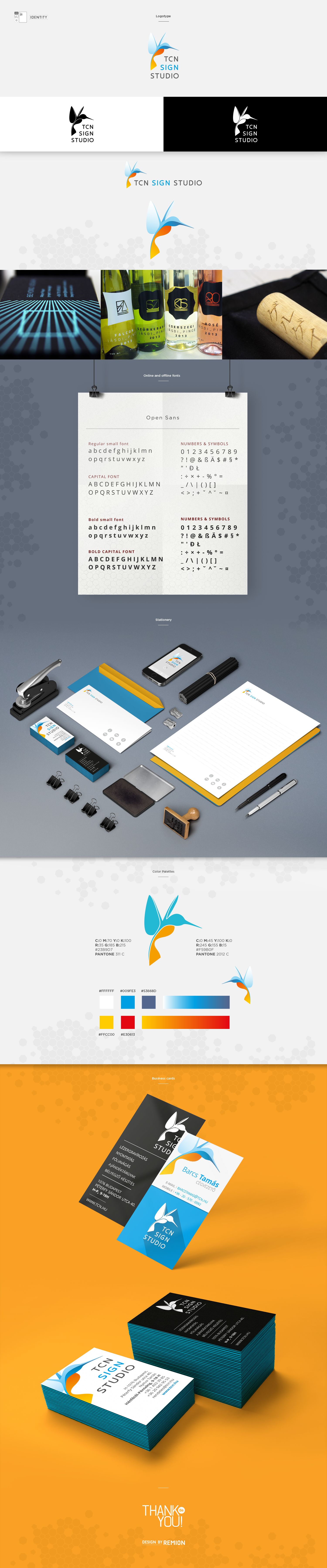 TCN Sign Studio / Corporate Identity - 1 by REMION Design Studio
