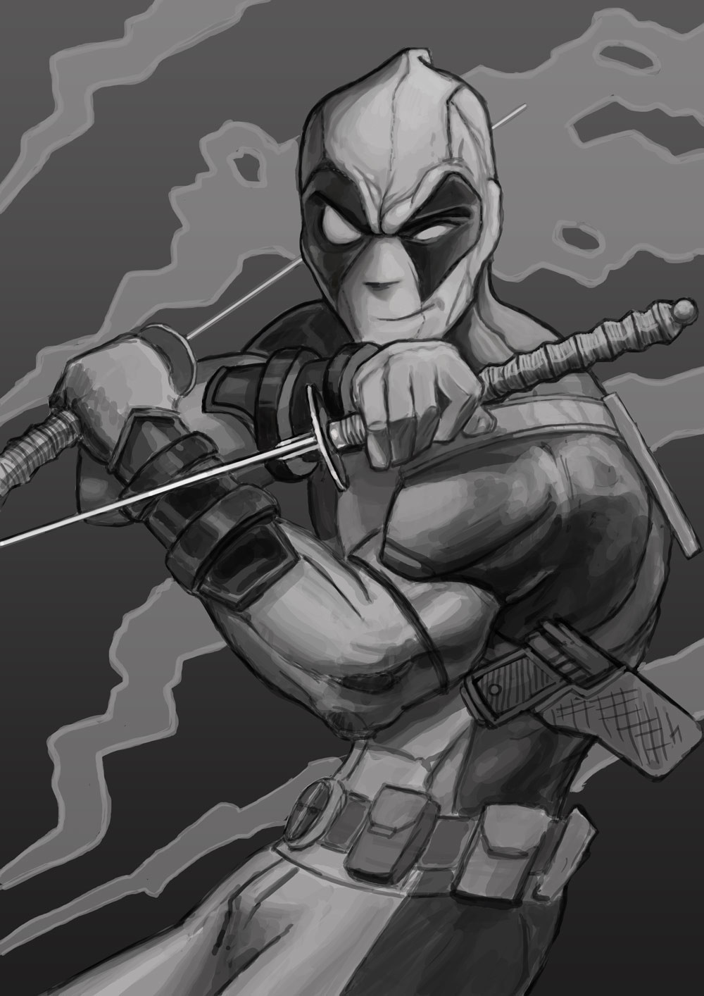 Deadpool - 1 by foreest
