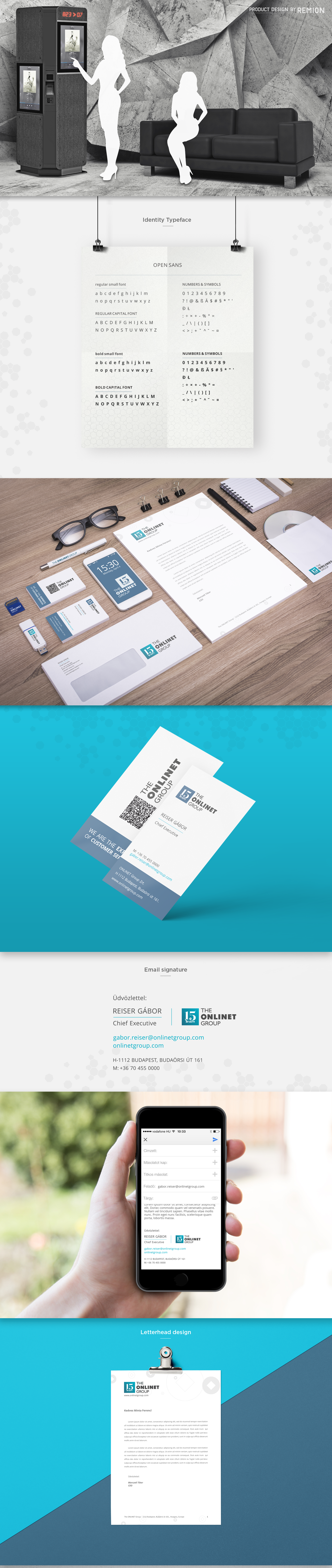 The ONLINET Group Identity Facelift - 1 by REMION Design Studio