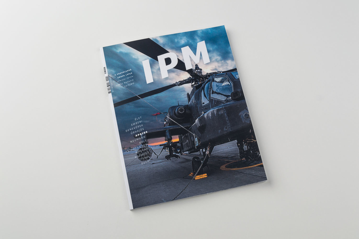 IPM redesign | MA degree - 1 by Kelemen Richárd