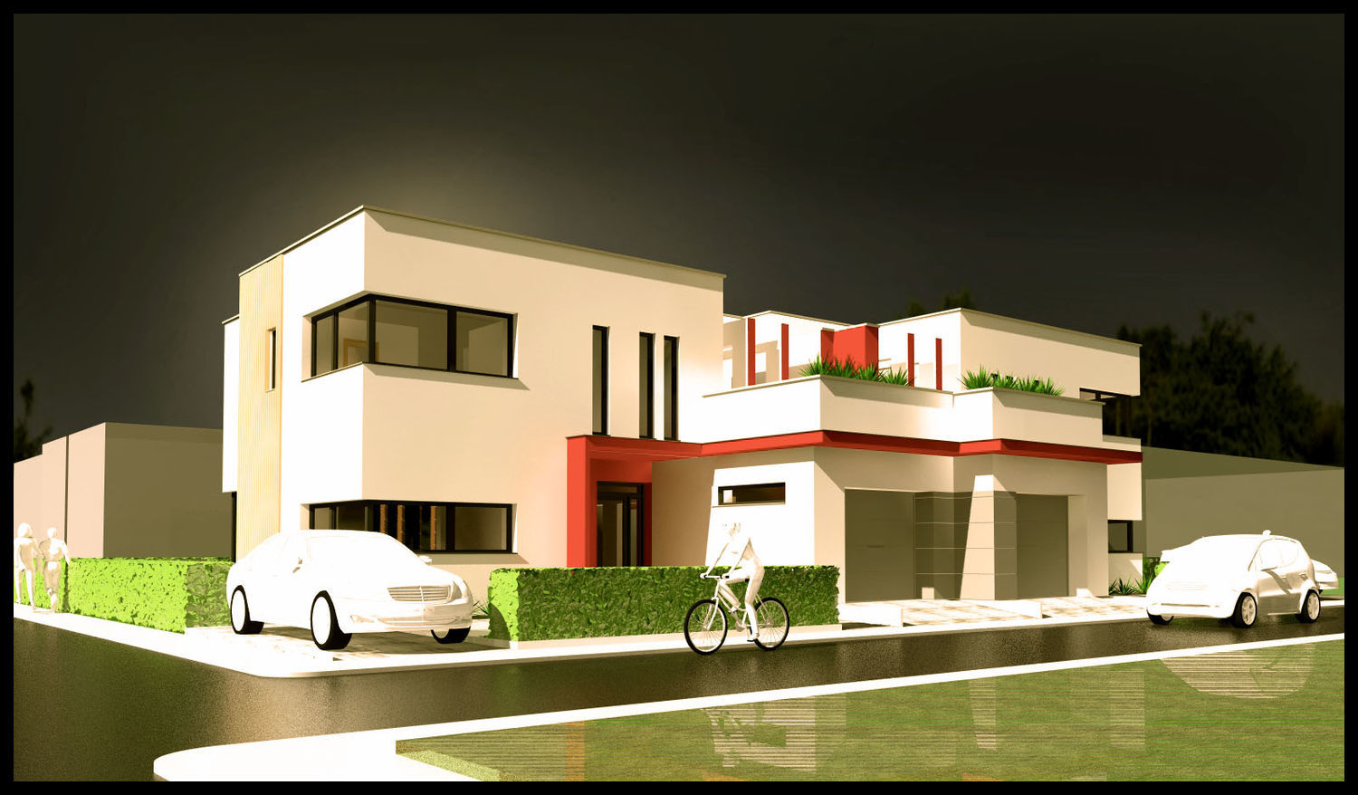 | semidetached house | visualization | - 1 by Roni