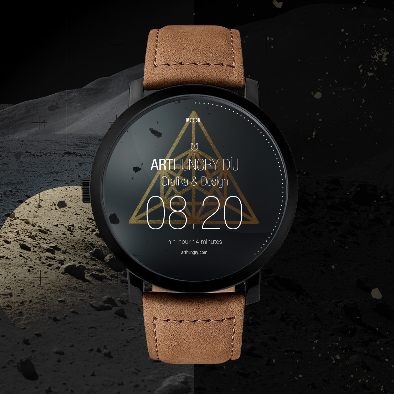 MOON Smartwatch - 1 by erosbalazs