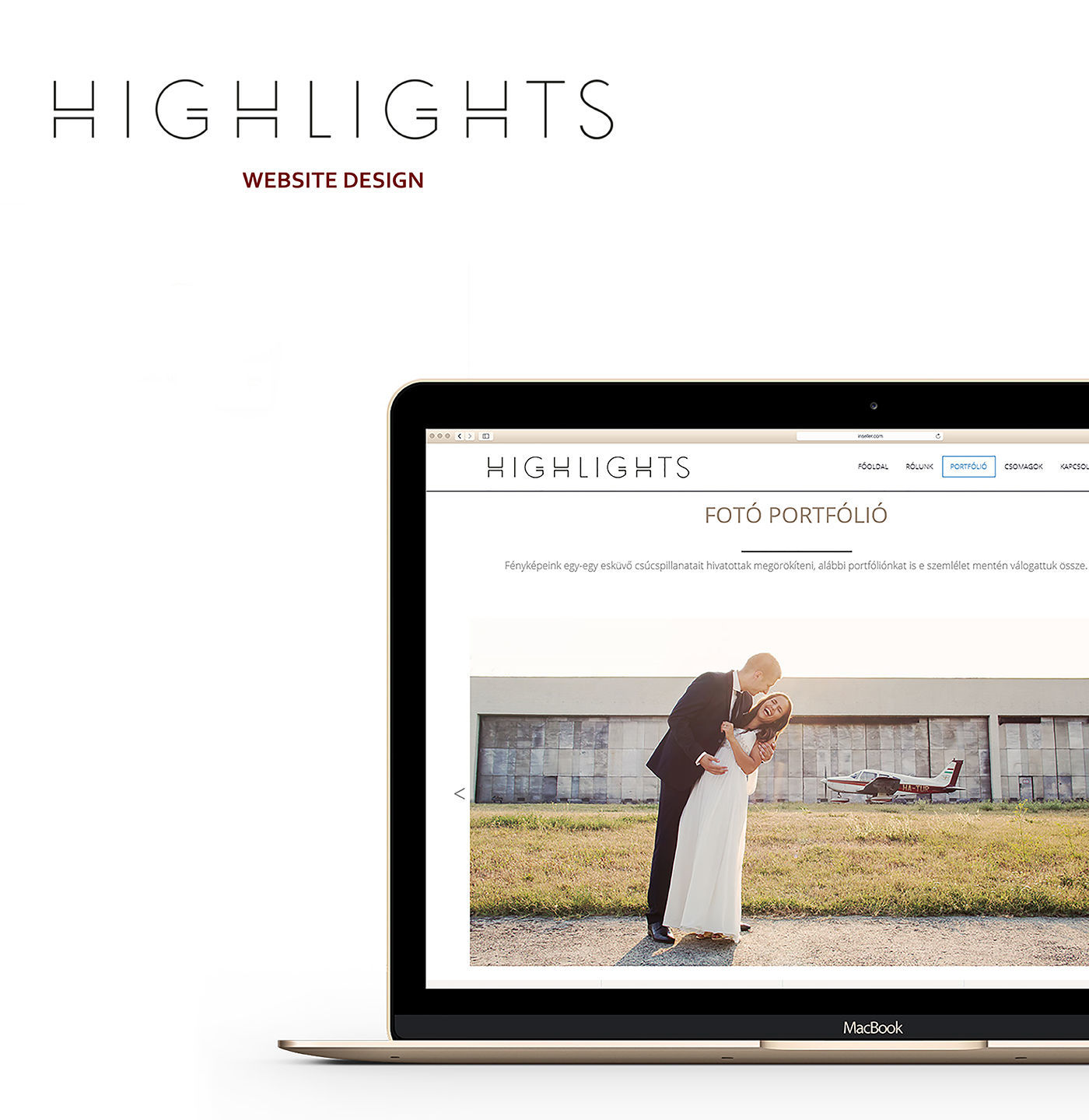 Highlights.hu / webdesign - 1 by GreatColonyDesignColLab