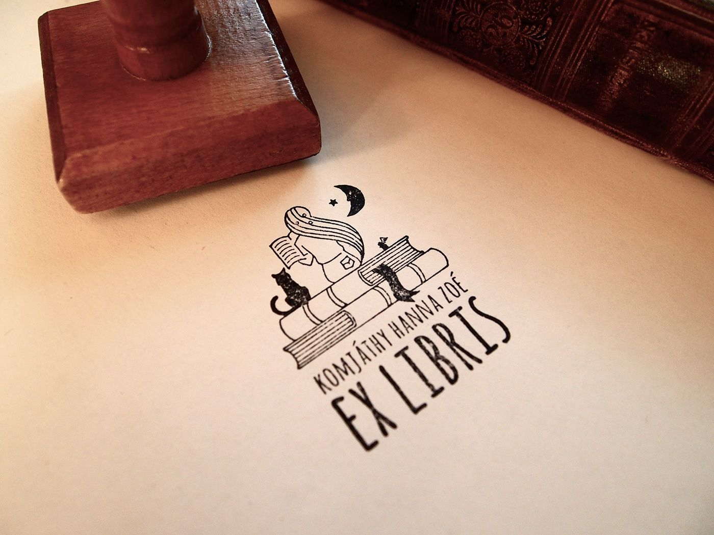 ExLibris for my family - 1 by Hédi vagyok