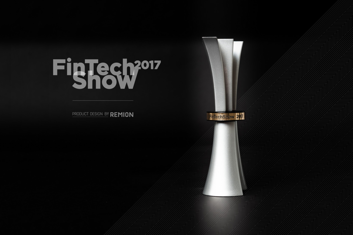 FintechShow 2017 Díj - 1 by REMION Design Studio