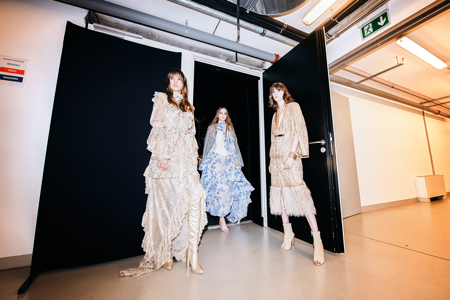 BCEFW 2018 / BACKSTAGE EDITORIAL - 1 by Csoboth Edina