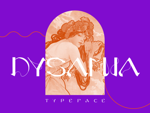 Dysania typeface