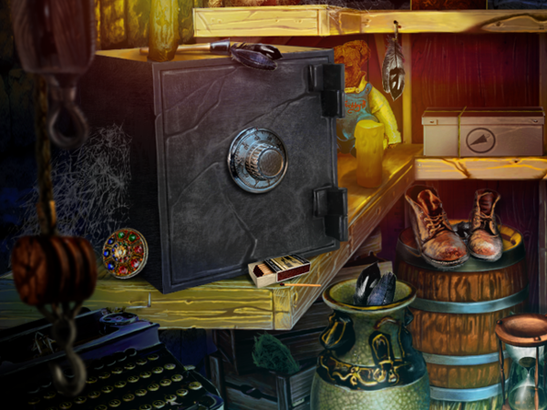 The Secret Order: Beyond Time Hidden Object Scenes CE