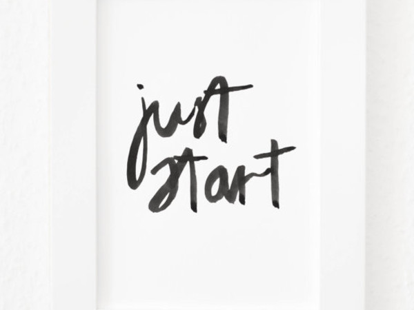 Just start Calligraphy