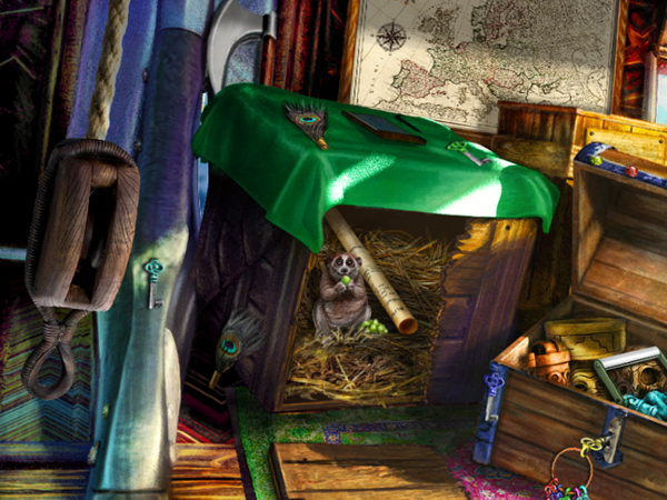 The Secret Order: Beyond Time Hidden Object Scenes G-I
