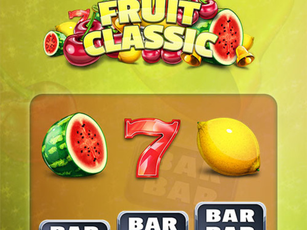 Scarlet Slots - Fruit Classic Slot Game