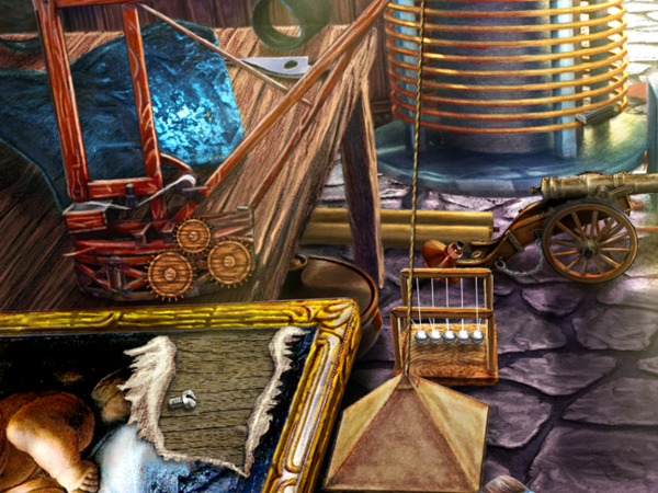 The Secret Order: Beyond Time Double Hidden Object Scene