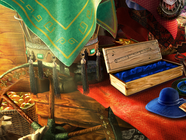 The Secret Order: Beyond Time Hidden Object Scenes A-C