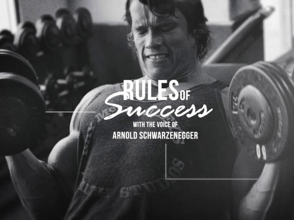 Rules of Success - Arnold Schwarzenegger Motivational | 42bit.hu