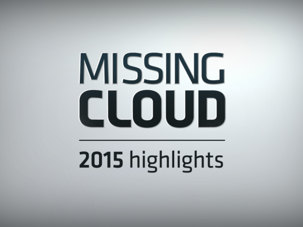 Missing Cloud - 2015 Highlights