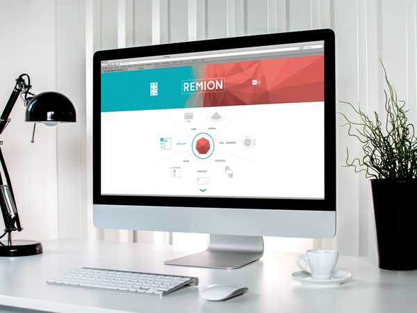 Remion / Corporate Website Design