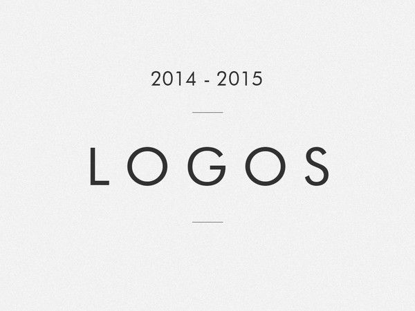 Logo collection | 2014 - 2015