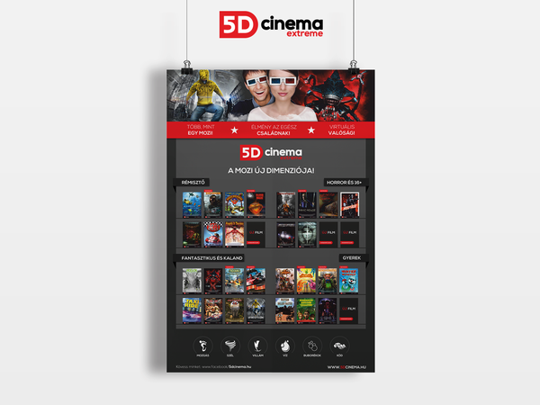 Graphic Designs / 5D Cinema Extreme