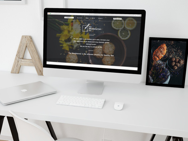 The Mealplanner Inc. / Corporate Website Design