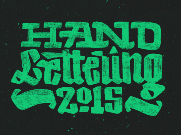 Hand-lettering 2015