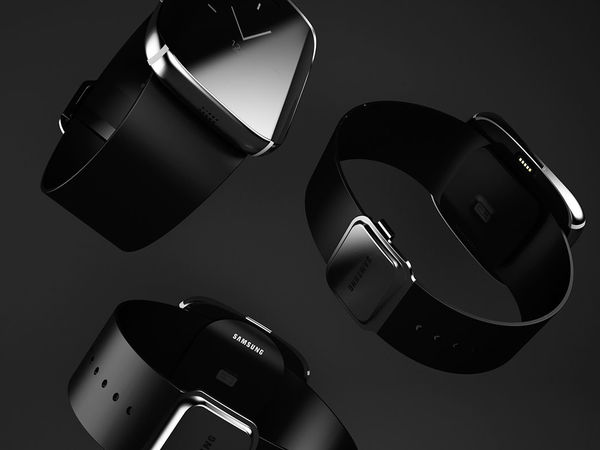 Samsung Galaxy Gear Edge concept