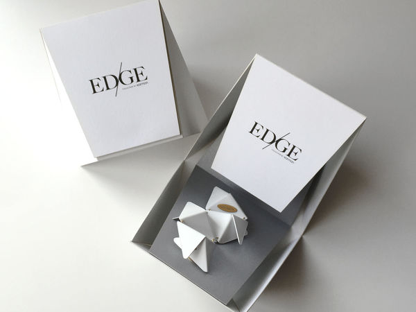 Karman Jewelry 'EDGE' collection exclusive packaging