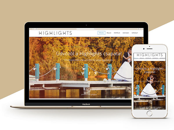Highlights.hu / webdesign