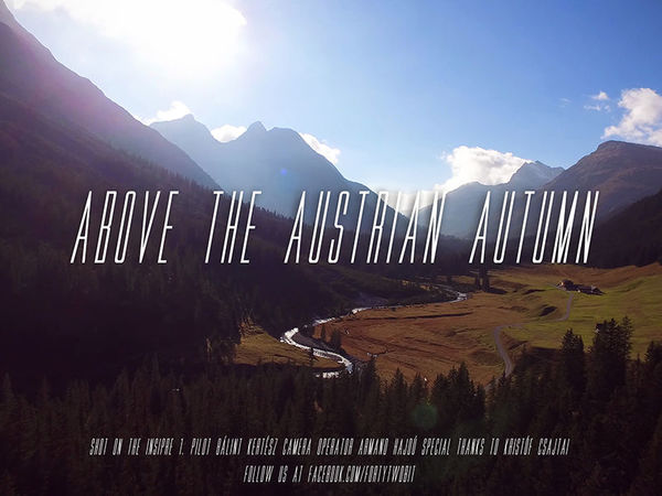 Above the Austrian Autumn