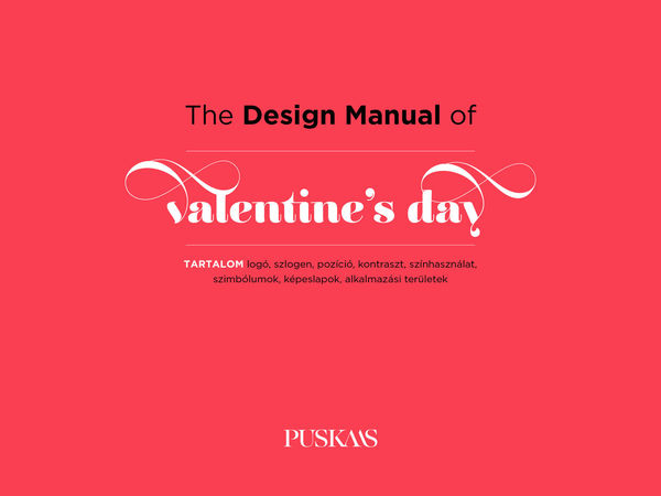 The Design Manual of Valentine's Day