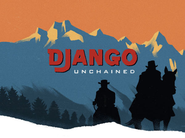Django Unchained TV promo 40s