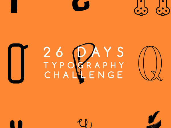 26 Days Typography Challenge
